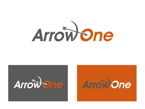 One logo with the title 'Arrow One - Abstract or Text Logo Needed'