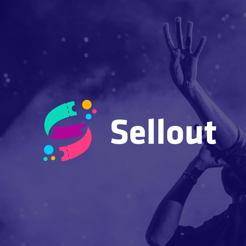 S logo with the title 'Sellout - S + Tickets'