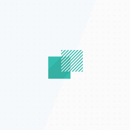 Fibonacci design with the title 'Golden ratio logo design'