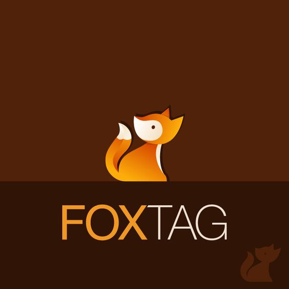 Fox logo with the title 'Fox Logo'