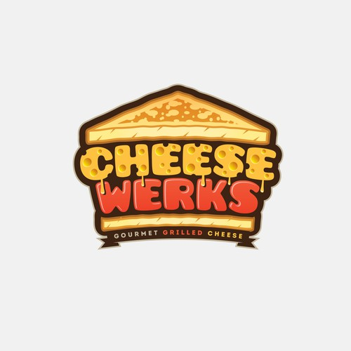 Cheese design with the title 'Cheese Werks'