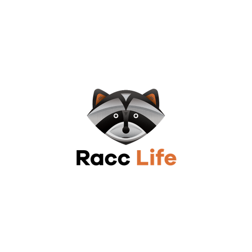 Raccoon logo with the title 'Raccoon'