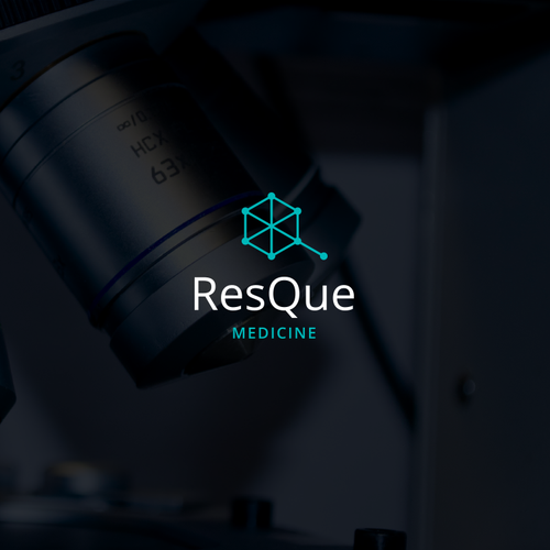 Cancer logo with the title 'ResQue'