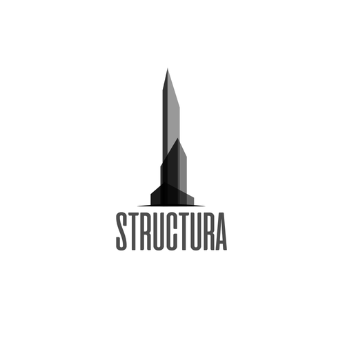 Transparent logo with the title 'Logo concept for an architectural/construction bussiness'