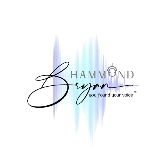 Voice over logo with the title 'Bryan Hammond'