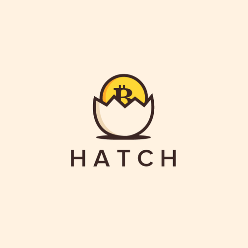 Bitcoin logo with the title 'Hatch'