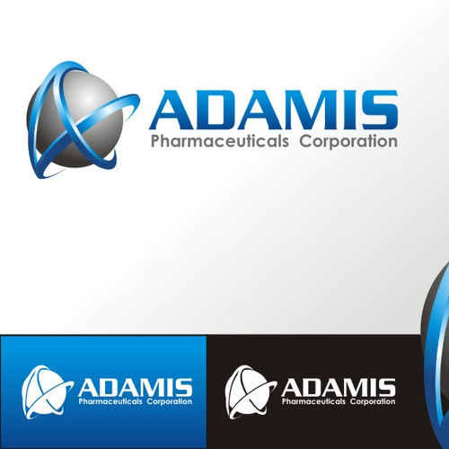 Sphere design with the title 'adamis pharmaceuticals'