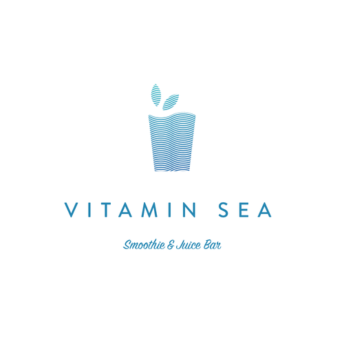 Smoothie logo with the title 'Logo for a Smoothie Bar'