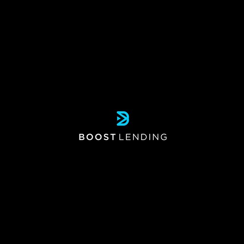 Turbo logo with the title 'Boost Landing Logo'