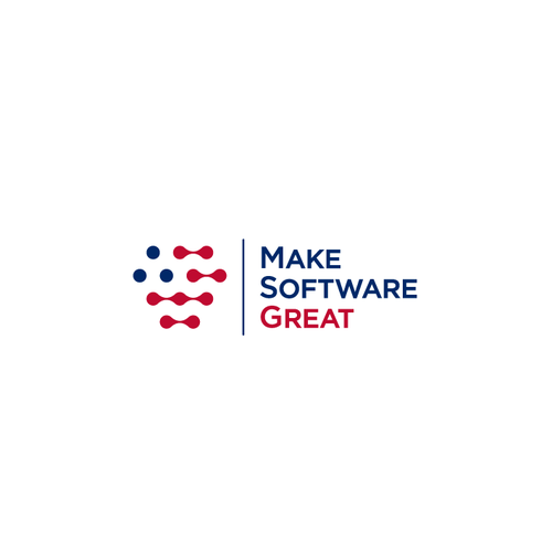 USA logo with the title 'Logo for Software Development company'