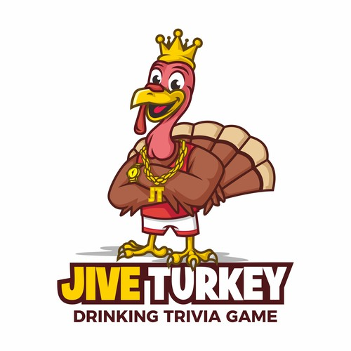 Thanksgiving logo with the title 'Jive Turkey logo'