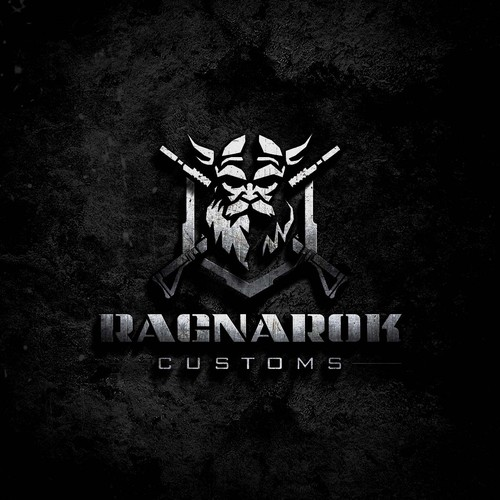 Army logo with the title 'Ragnarok Customs '