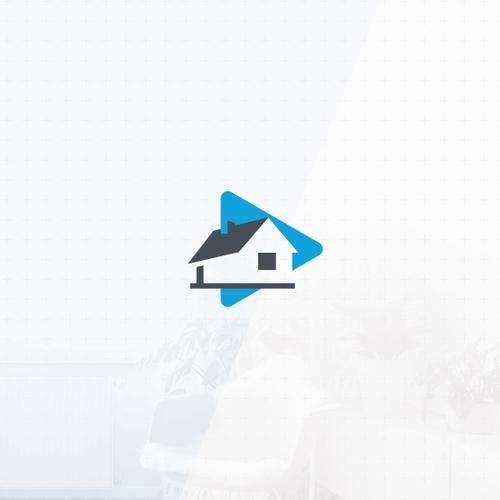 Casa logo with the title 'Modern minimalistic logo'