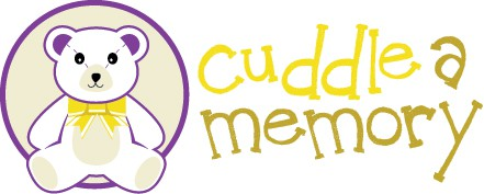 Memories logo with the title 'Cuddle a memory needs a new logo'