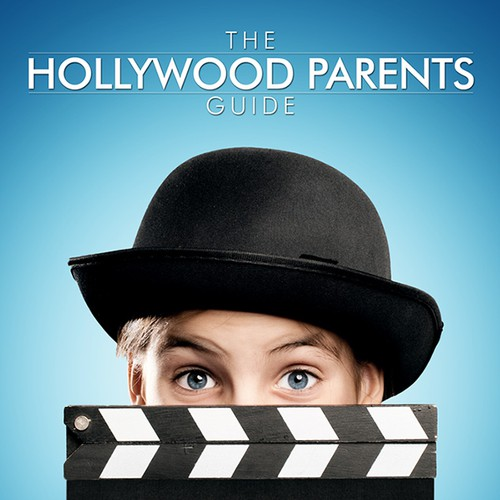 Expensive design with the title 'Create the cover for The Hollywood Parents Guide'