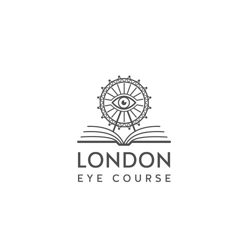 London logo with the title 'London Eye Course'
