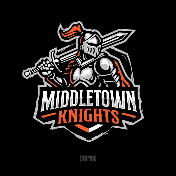 T-shirt with the title 'Middletown Knights'