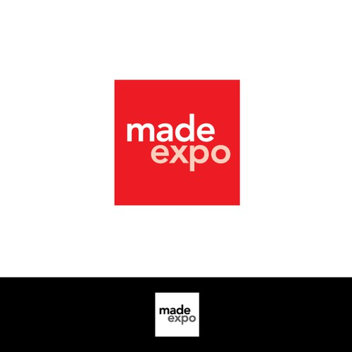 Exposition logo with the title ' logo for Architecture trade show'