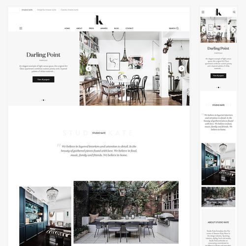Interior Design Websites The Best Interior Design Web Design Ideas 99designs