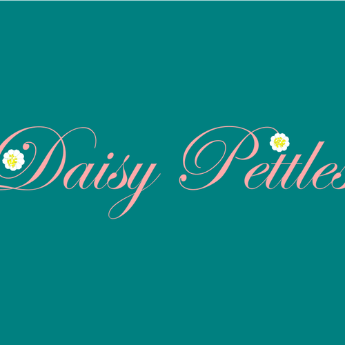 Wonderful logo with the title 'Daisy pettles'