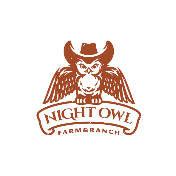 Hat design with the title 'Night Owl'