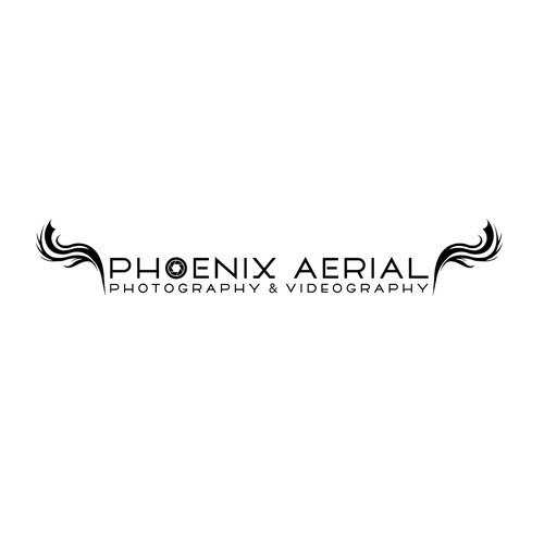 Aerial design with the title 'Logo for Phoenix Aerial'