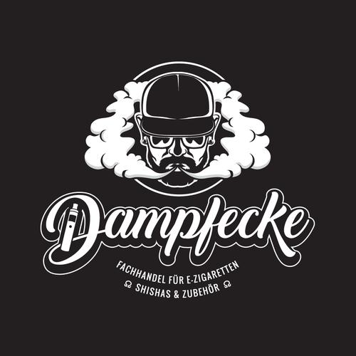 Vape design with the title 'Logo for Vapeshop'