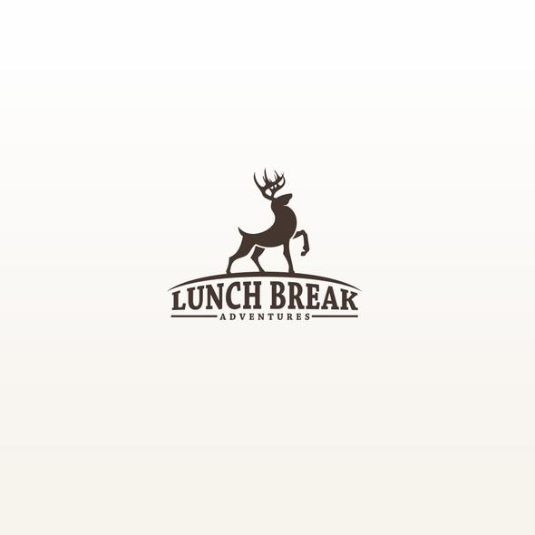 Break design with the title 'Lunch Break Adventures'