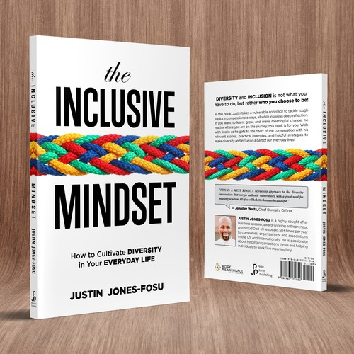 Diversity design with the title 'The Inclusive Mindset'