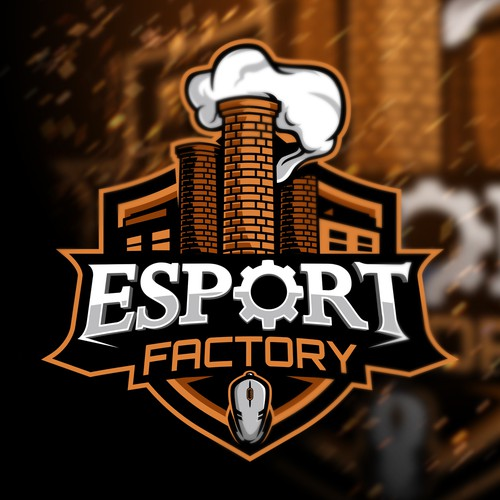 Esports logo with the title 'Esport Factory'