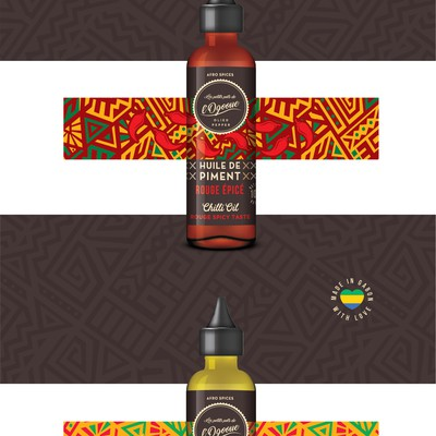 Premium spicy oil from Africa