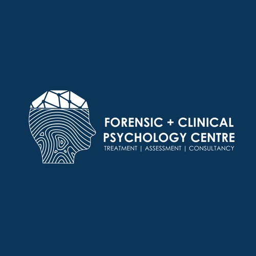 Human brand with the title 'Forensic + Clinical Psychology Centre'