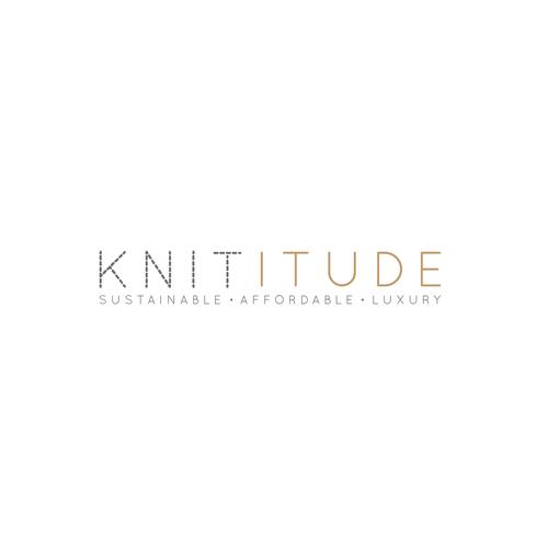 Thread logo with the title 'Fashion brand logo'