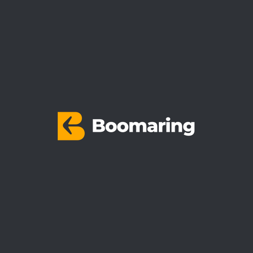 B design with the title 'Boomerang'