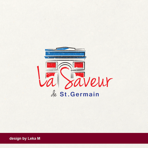 Paris design with the title 'La Saveur'
