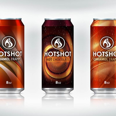 Hotshot- Product Labels for Hot New Drink
