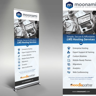 Moonami stand banner