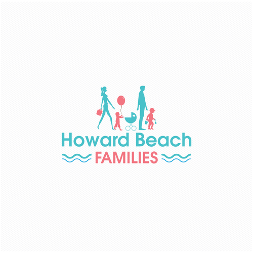 Motherhood logo with the title 'Howard Beach Families'
