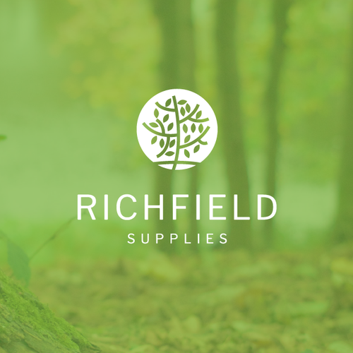 Company design with the title 'Richfield Supplies'