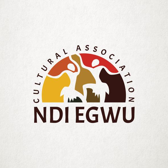 Cultural club logo with the title 'Logo for Ndi Egwu'