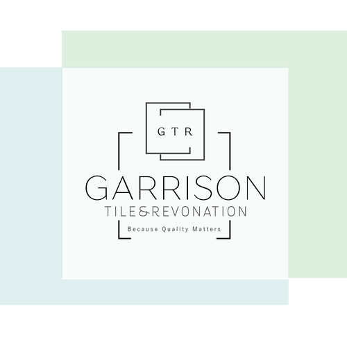 Tile logo with the title 'Garrison Tile & Renovation'
