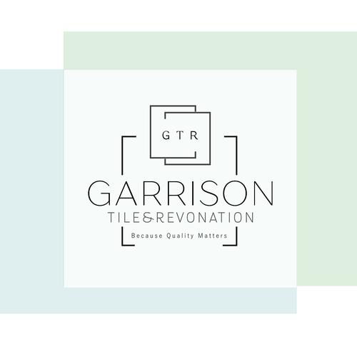 Tile logo with the title 'Garrison Tile & Renovation'
