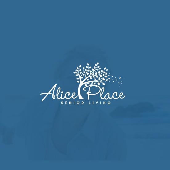 Retreat logo with the title 'Alice Logo Design'