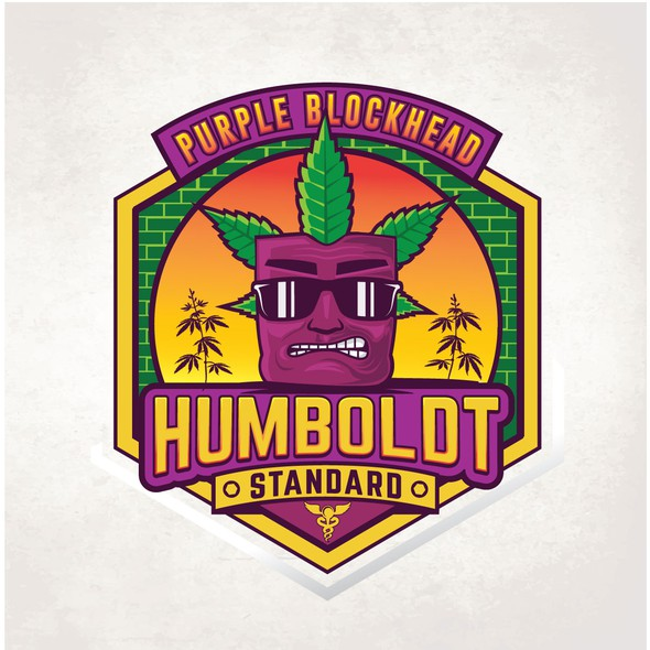 Yellow label with the title 'Humboldt'