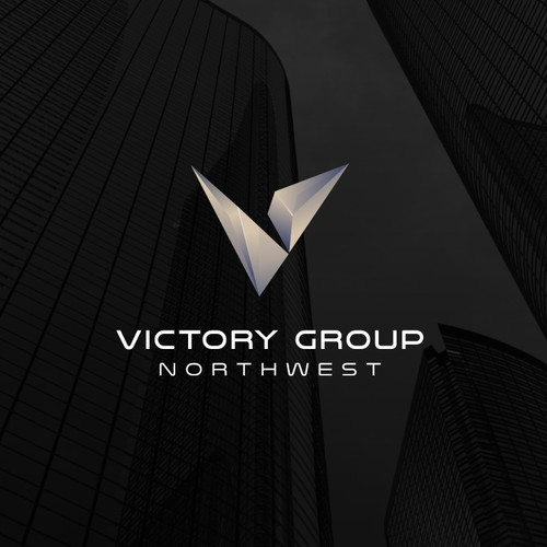 Mature design with the title 'Victory Group Northwest logo design'