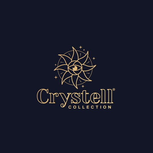 Tarot logo with the title 'Crystell Collection'