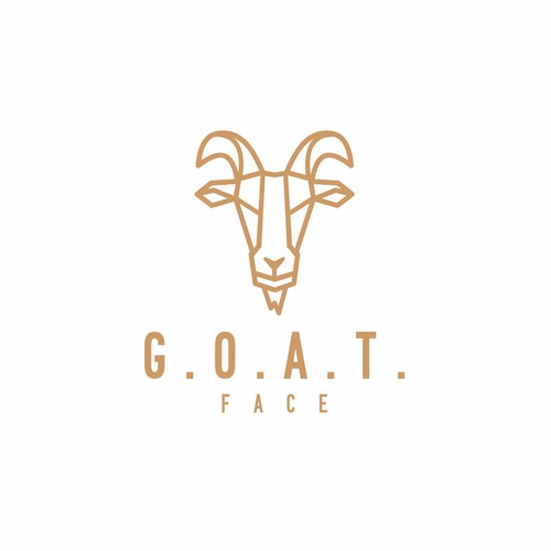 Mountain goat logo with the title 'G.O.A.T. FACE'