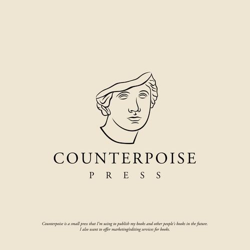 Greek mythology logo with the title 'Counterpoise'