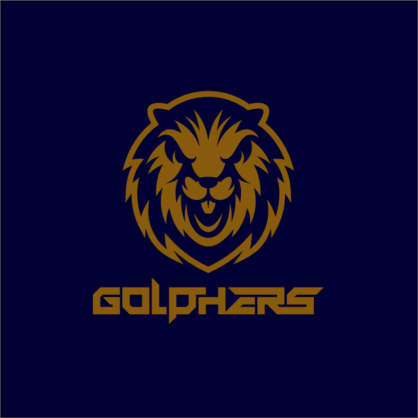 Gopher logo with the title 'Golphers : Fierce Gopher!'