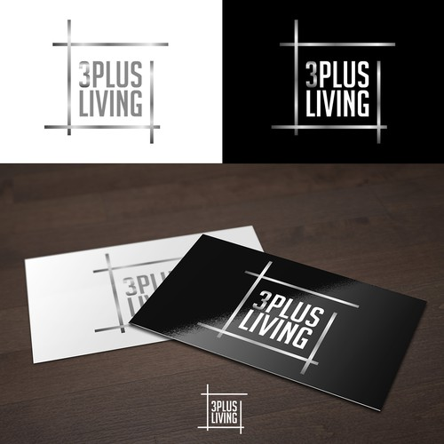 Plus design with the title '3PLUS LIVING'